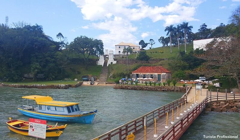 Fortaleza de Santa Cruz na lha de Anhatomirim - O que fazer em Floripa - guia completo
