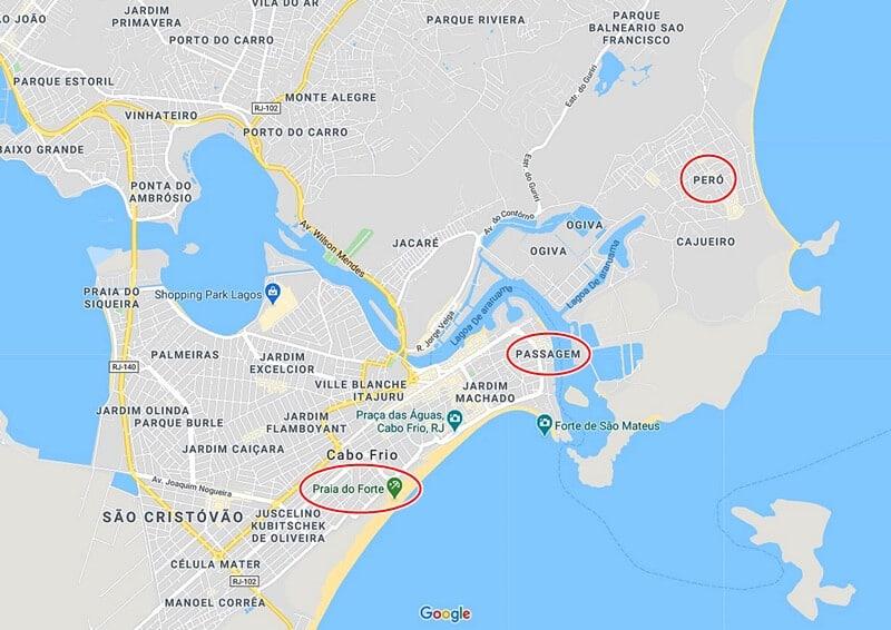 mapa de cabo frio - Cabo Frio (RJ): quando ir, o que fazer e dicas de passeios