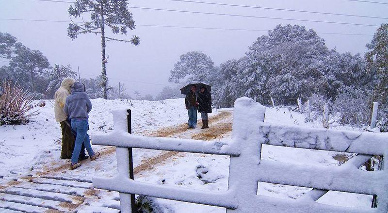 neve urubici - Serra de Santa Catarina: cidades, atrações, dicas e roteiros