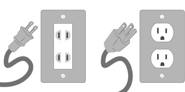 tomadas eua - Tomada nos EUA: modelo, voltagem e qual adaptador comprar
