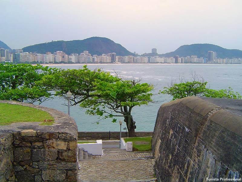 Forte de Copacabana praia rio de janeiro - Guia das praias do Rio de Janeiro
