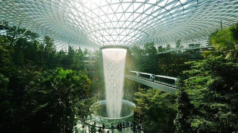 aeroporto de singapura - Quais os maiores aeroportos do mundo?