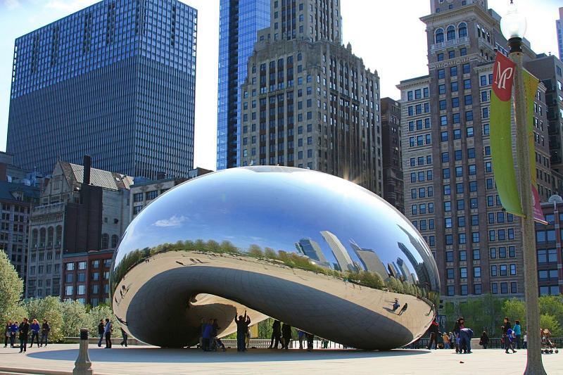 chicago bean - Quais os maiores aeroportos do mundo?