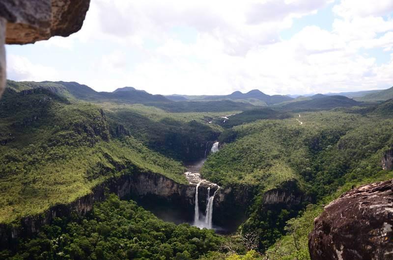 mirante da janela chapada dos veadeiros - Chapada dos Veadeiros: cachoeiras
