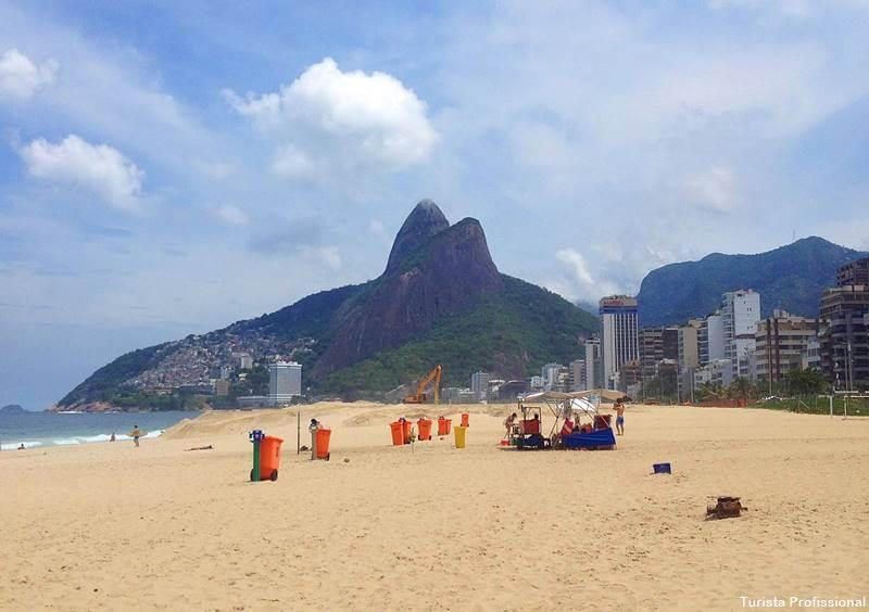praia do leblon rio de janeiro 1 - O que fazer em um dia no Rio de Janeiro