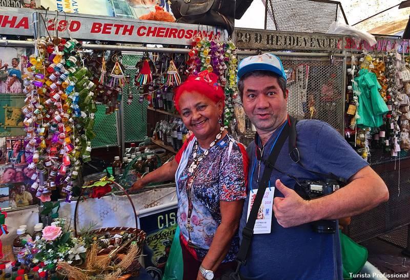 mercado ver o peso em Belém