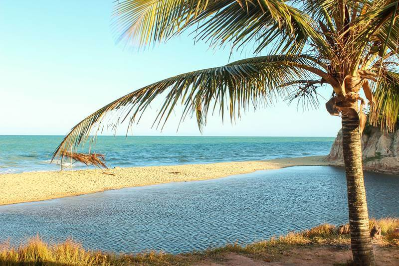 Praia em Prado, Bahia