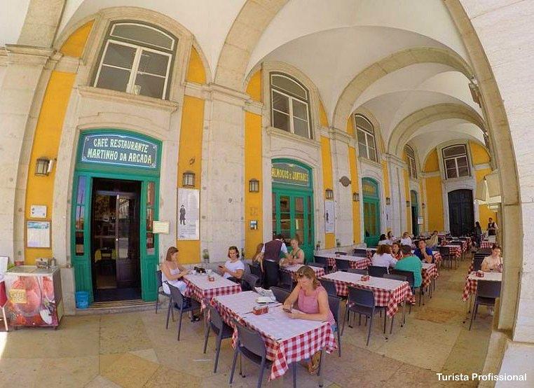 Cafe Restaurante Martinho da Arcada - Martinho da Arcada, o café mais antigo de Lisboa