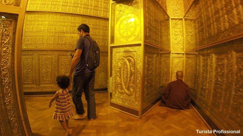 Sule Pagode em Yangon - Mianmar