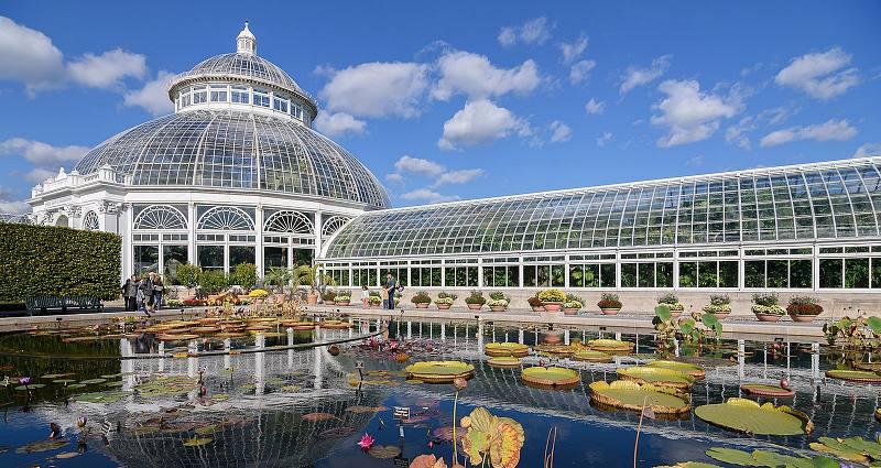 Jardim Botanico de Nova York - Outono em Nova York