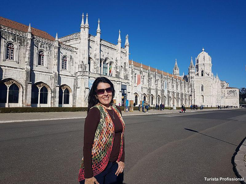 Mosteiro dos Jeronimos em Lisboa - Bairro de Belém em Lisboa