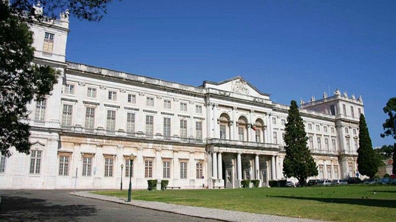 Palacio da Ajuda em Lisboa - Bairro de Belém em Lisboa