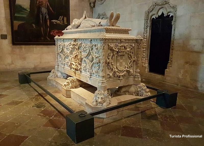 Tumulo de Vasco da Gama - Bairro de Belém em Lisboa