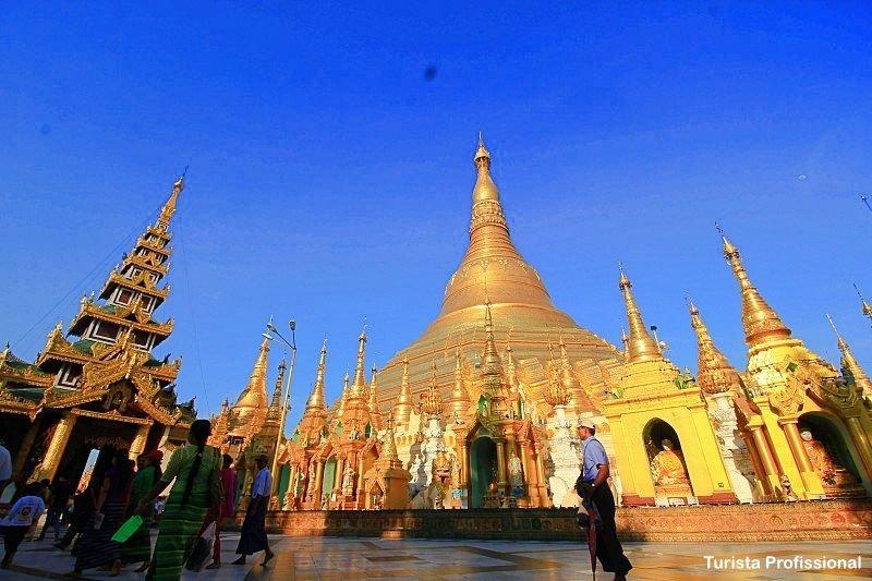 Shwedagon Paya Pagode