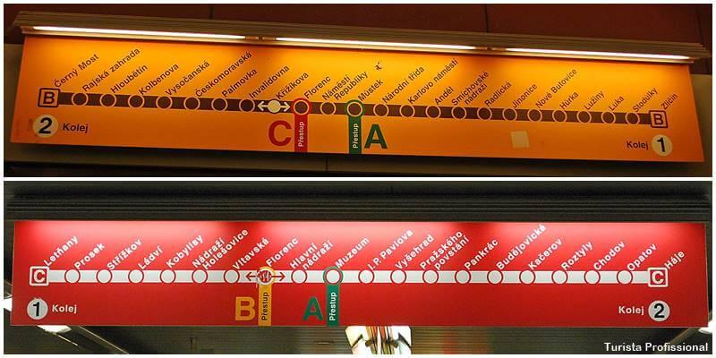 metro em praga - Cidade de Praga: dicas de viagem pra capital da República Tcheca