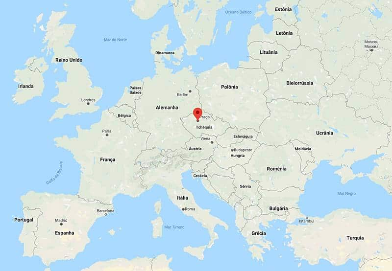 onde fica praga - Cidade de Praga: dicas de viagem pra capital da República Tcheca