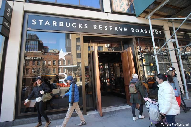 starbucks new york - Outono em Nova York