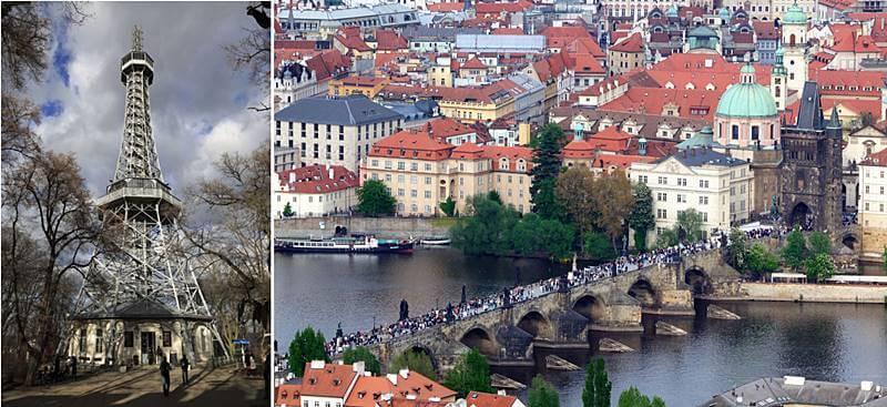 torre petrin praga - Cidade de Praga: dicas de viagem pra capital da República Tcheca