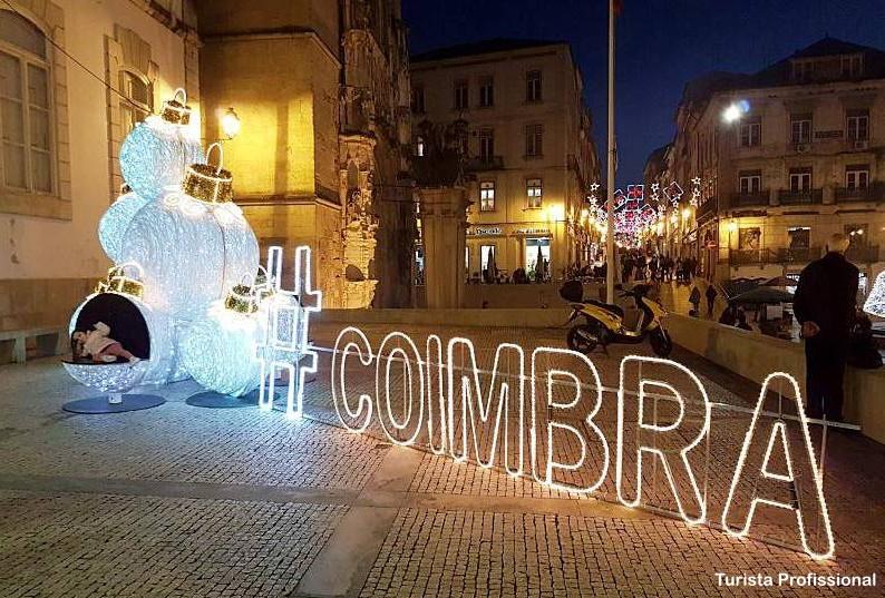 Coimbra no natal - Como ir de Lisboa a Coimbra