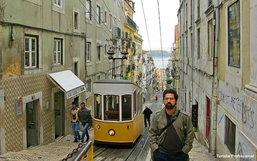 elevador da bica lisboa - Bairro Alto em Lisboa