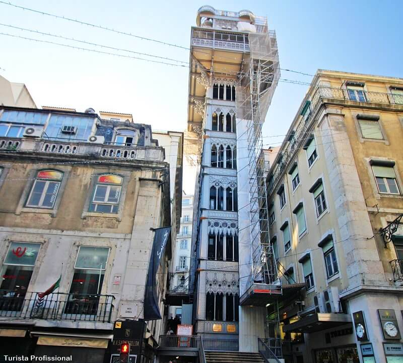 elevador de santa justa - Conheça os 4 elevadores em Lisboa