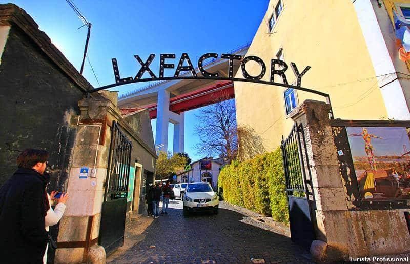 Lx Factory em Lisboa