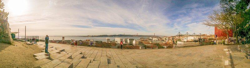 miradouro de santa catarina - Bairro Alto em Lisboa