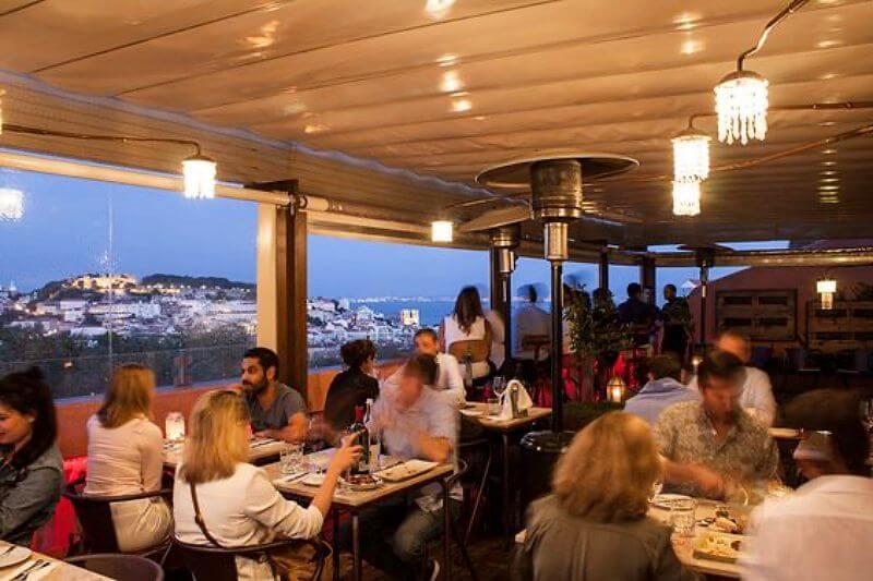 restaurante no bairro alto - Bairro Alto em Lisboa