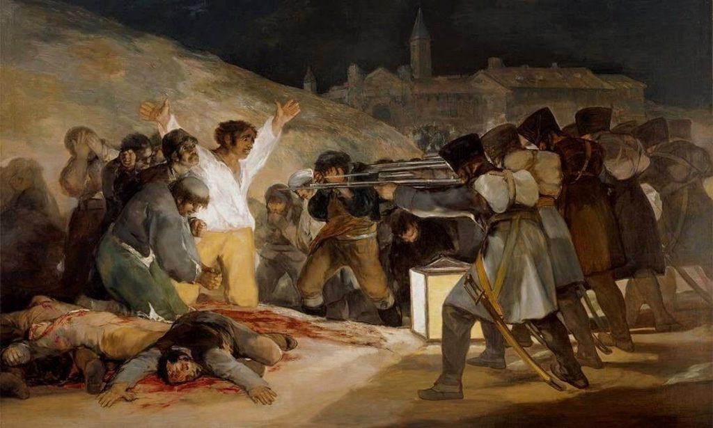 O 3 de maio em Madri 1024x615 - Museu do Prado em Madrid