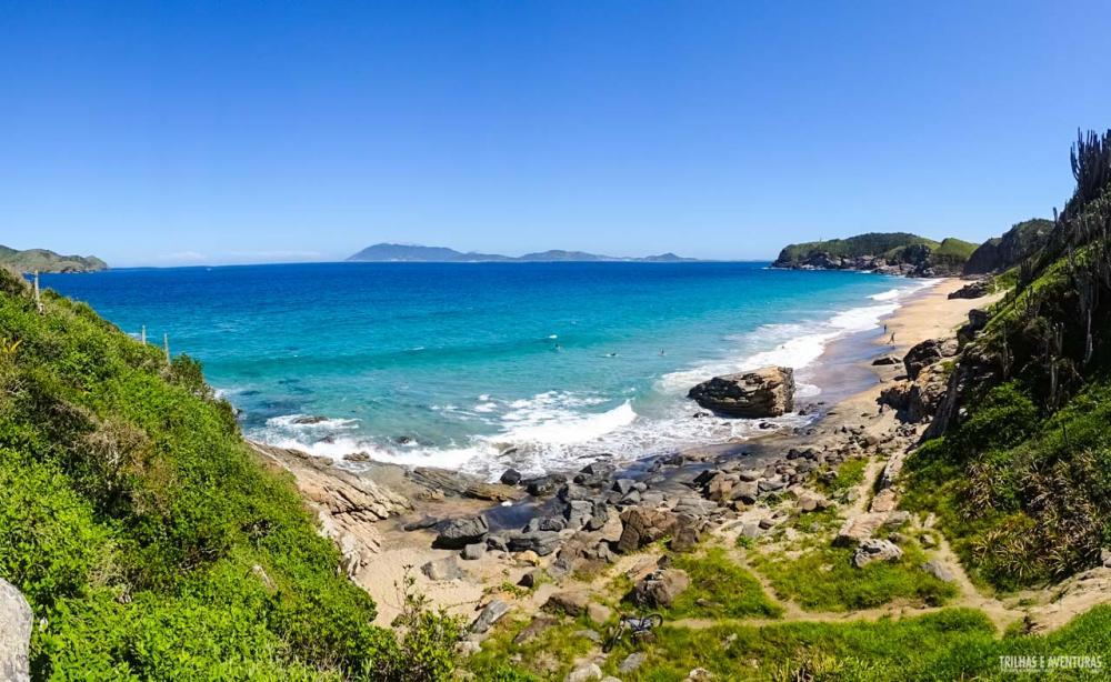 Praia Brava de nudismo em Cabo Frio - Praias de Cabo Frio