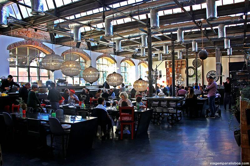 onde comer em lisboa lx factory - LX Factory, o lado cool de Lisboa