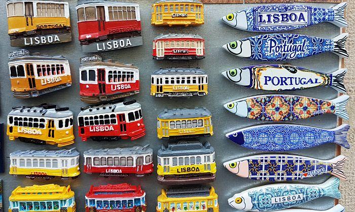 souveniers em Lisboa