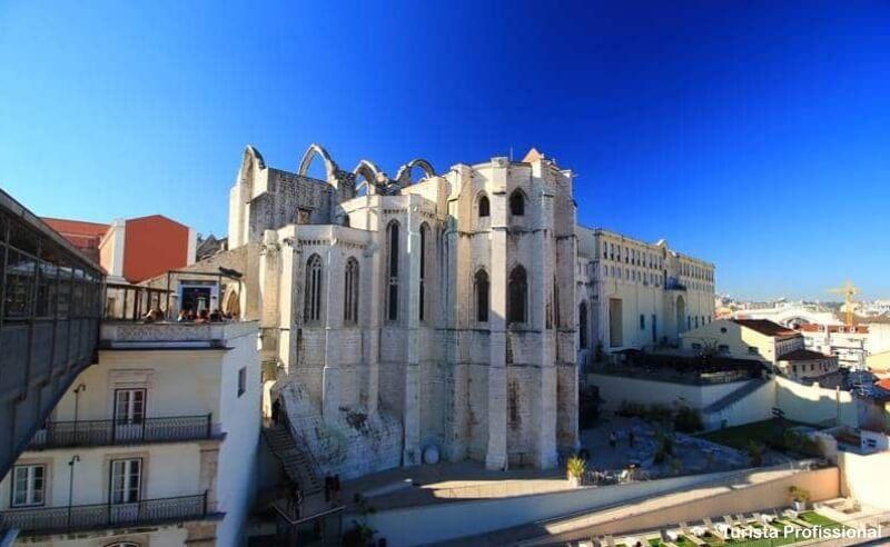 convento do carmo elevador de santa justa - Convento do Carmo em Lisboa