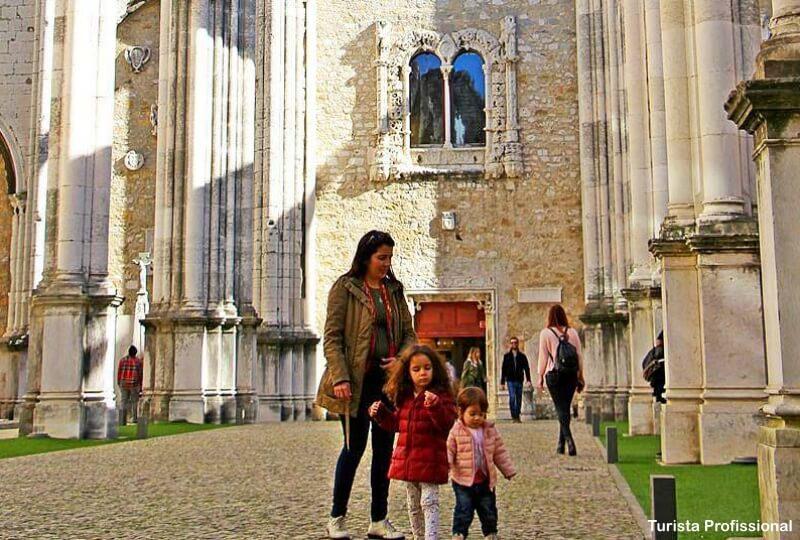 o que fazer com criancas em lisboa - Convento do Carmo em Lisboa