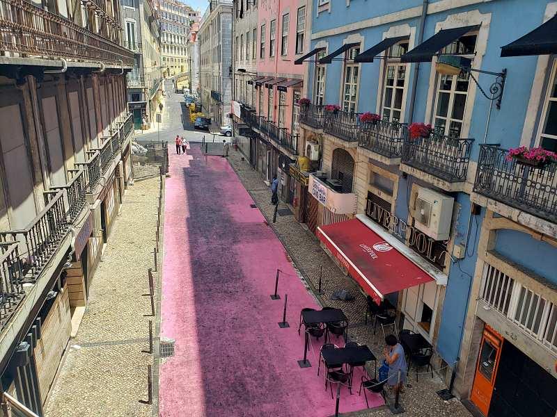 rua rosa - O que fazer em Lisboa