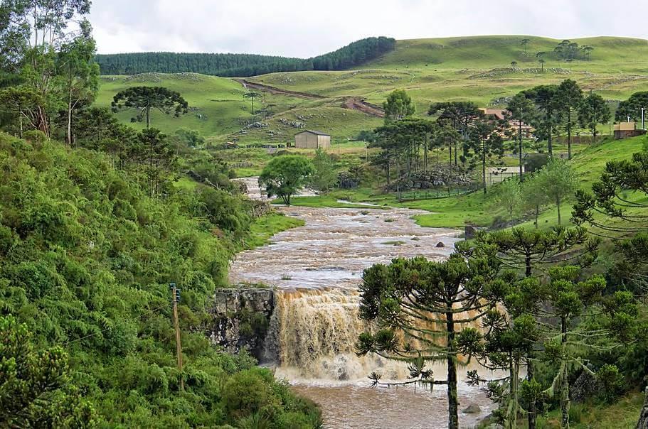 cachoeira serra catarinense - Serra do Rio do Rastro, Santa Catarina