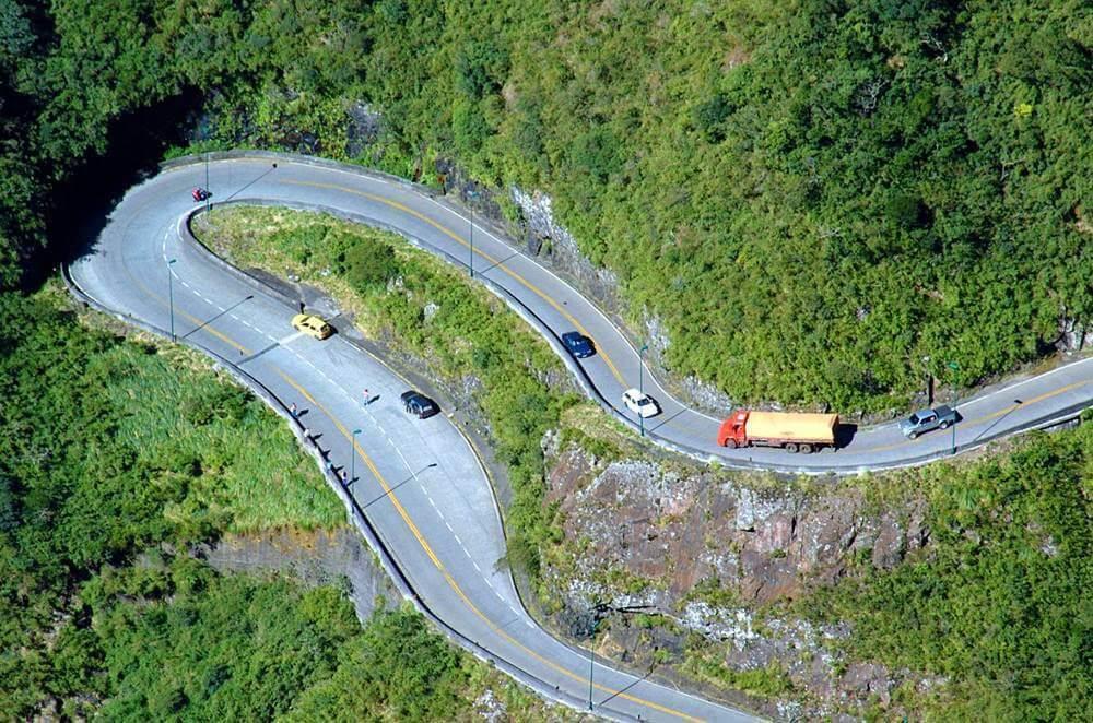 curvas estrada rio do rastro - Serra do Rio do Rastro, Santa Catarina