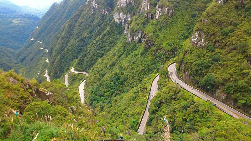estrada rio do rastro - Serra do Rio do Rastro, Santa Catarina