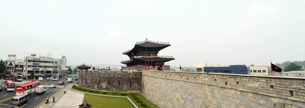 Hwasong fortaleza - 20 Pontos Turísticos da Coreia do Sul
