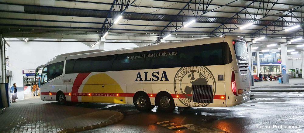 onibus para a Espanha - Ônibus em Portugal