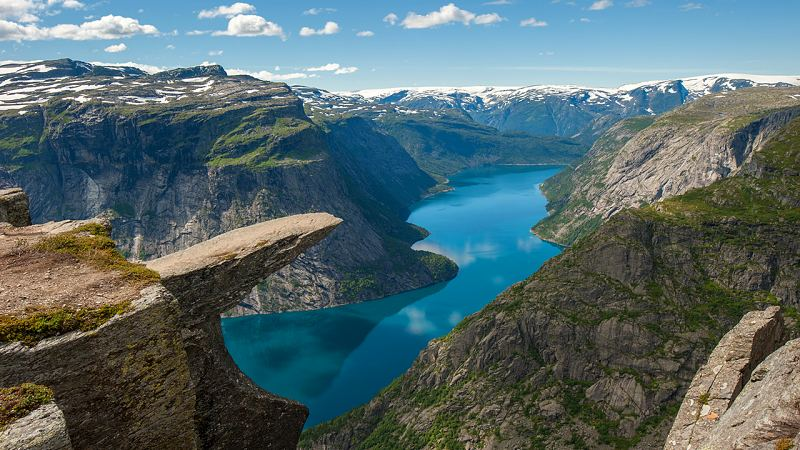 Trilha Trolltunga Noruega - 21 cidades da Noruega que você precisa visitar!