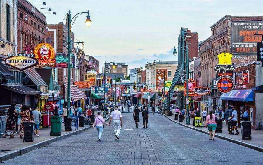 beale street em memphis - Sul dos Estados Unidos: cidades, atrações e dicas de viagem