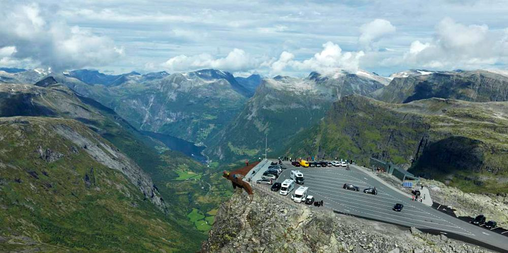 fiorde de geirander - 21 cidades da Noruega que você precisa visitar!