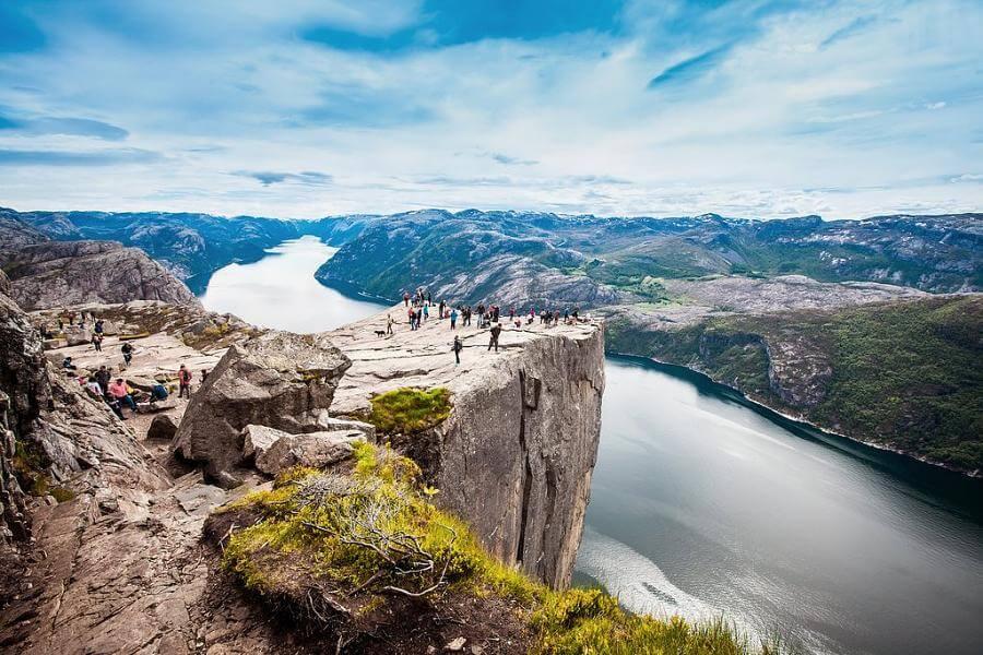 pedro do pulpito em stavanger noruega - 21 cidades da Noruega que você precisa visitar!