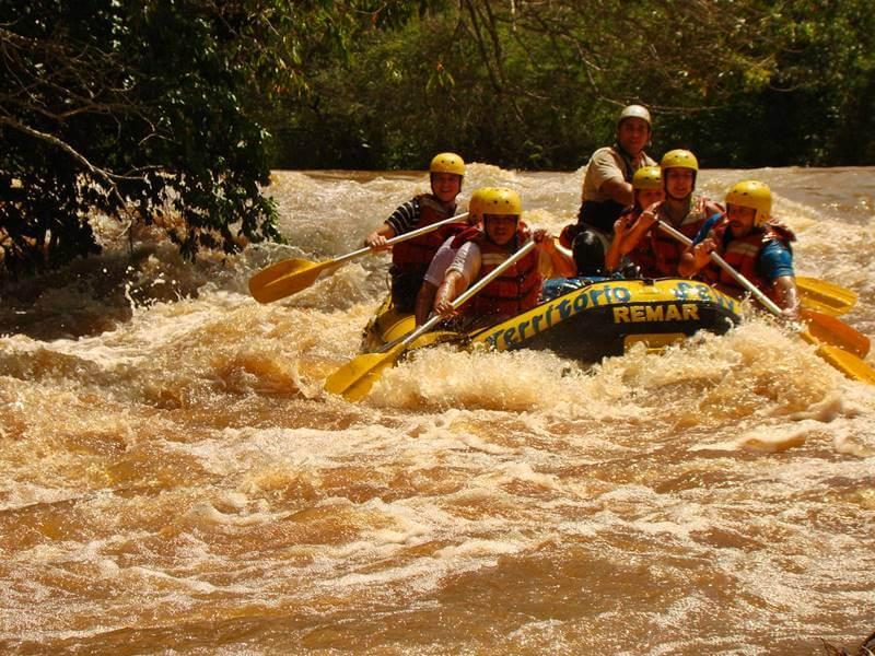 rafting brotas - 20 Lugares para viajar em SP