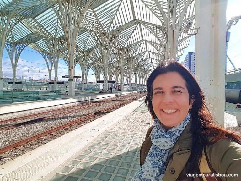 turista profissional em lisboa 768x576 1 - Estação do Oriente em Lisboa