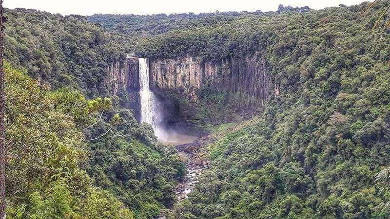 cachoeira prudentopolis - 10 lugares para conhecer no Paraná
