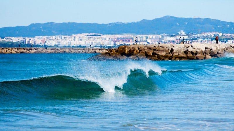 Costa da Caparica - Praias perto de Lisboa