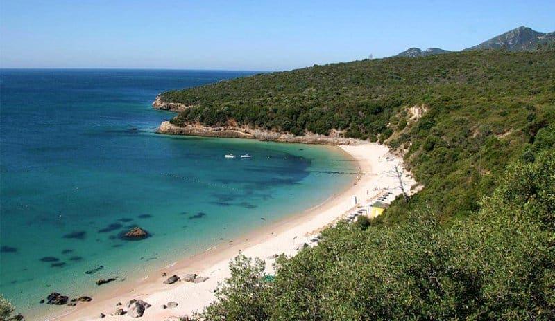 Praia de Galapos - Praias perto de Lisboa