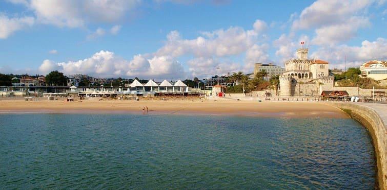 Praia do Tamariz - Praias perto de Lisboa